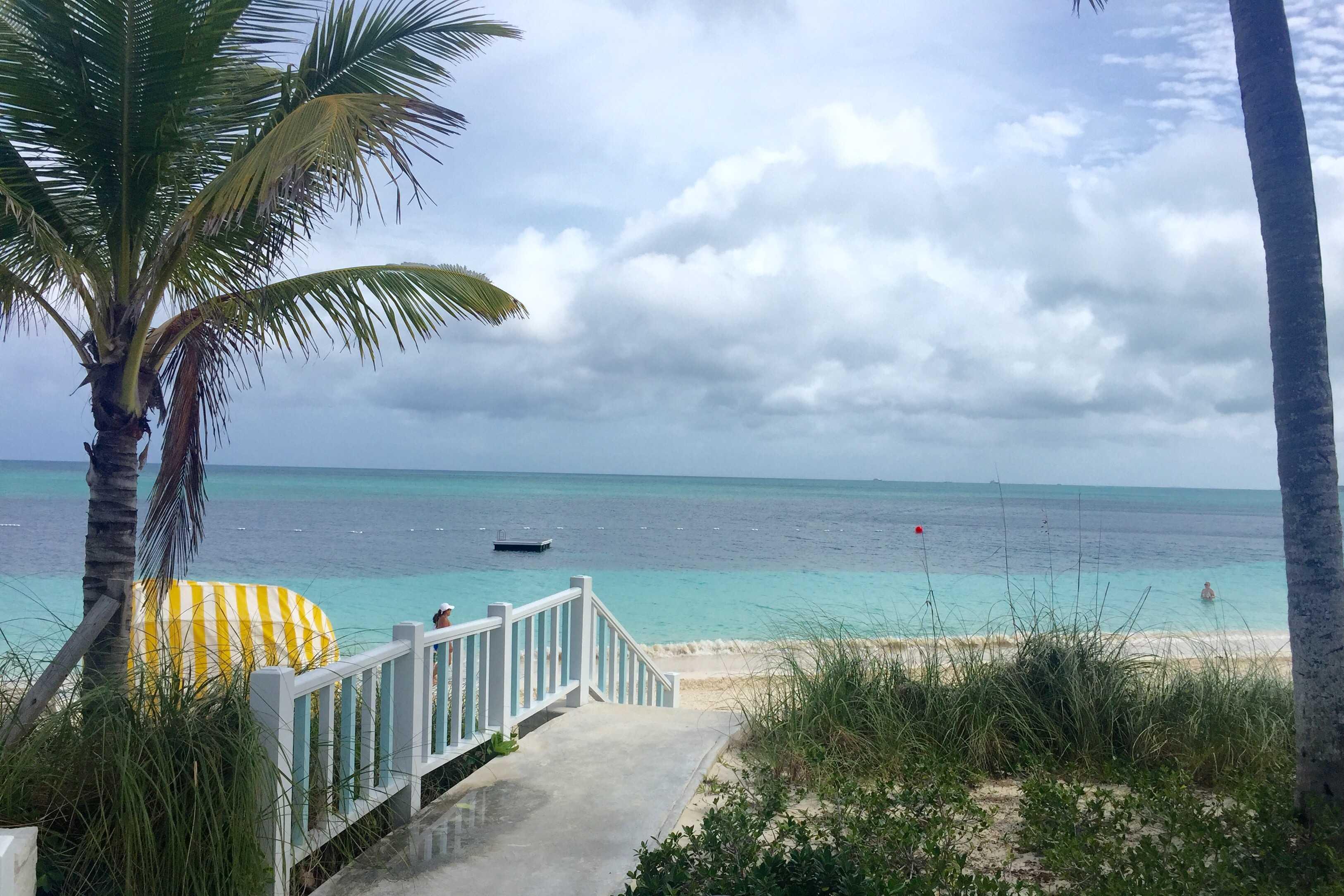 Lyford Cay beach